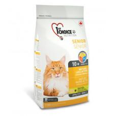 1st Choice - Корм для пожилых или малоактивных кошек, цыпленок (Mature or Less Active )