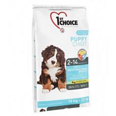 1st Choice - Корм для щенков средних и крупных пород, курица (Puppy Medium&Large Breeds)