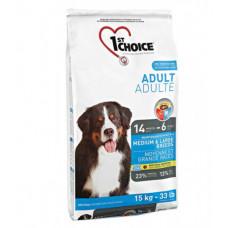 1st Choice - Корм для собак средних и крупных пород, курица (Adult Medium&Large Breeds)
