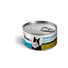 1st Choice - Консервы для кошек, здоровая кожа и шерсть, тунец с курицей и ананасом (Healthy skin and coat, tuna with chicken&pineapple)