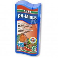 JBL pH-Minus - Кондиционер для собакнижения рН в пресноводных аквариумах, 100 мл на 400 л