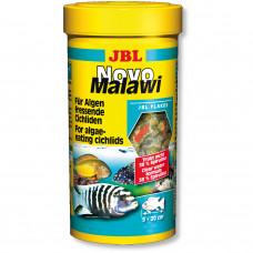 JBL NovoMalawi - Основной корм для растительноядных цихлид, хлопья, 250 мл (40 г)