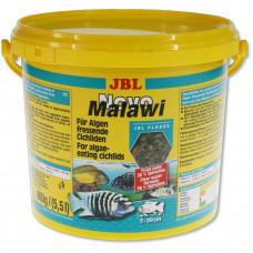 JBL NovoMalawi - Основной корм для растительноядных цихлид, хлопья, 5,5 л (860 г)