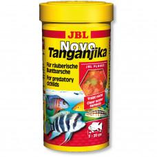 JBL NovoTanganjika - Основной корм в форме хлопьев для хищных цихлид, 250 мл (45 г)