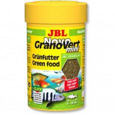 JBL NovoGranoVert mini - Осн. корм для растительноядн. акв. рыб и крев., 100 мл (40 г)