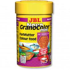 JBL NovoGranoColor mini - Осн. корм для яркой окраски акв. рыб, гран., 100 мл (43 г)