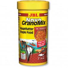 JBL NovoGranoMix - Осн. корм для пресн. аквариумных рыб, гранулы, 250 мл (115 г)