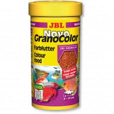 JBL NovoGranoColor - Осн. корм для яркой окраски акв. рыб, гранулы, 250 мл (118 г)