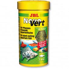 JBL NovoVert - Осн. корм для растительноядных пресн. акв. рыб, хлопья, 250 мл (40 г)
