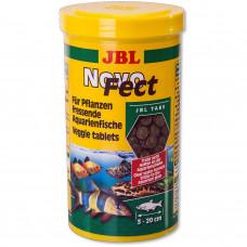JBL NovoFect - Корм для растительноядных акв. рыб и креветок, табл., 100 мл (58 г)