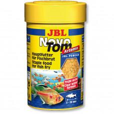 JBL NovoTom Artemia - Осн. корм для мальков живородящих акв. рыб, 100 мл (60 г)