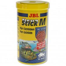 JBL NovoStick M - Основной корм в форме палочек для хищных цихлид, 1 л (440 г)