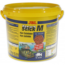 JBL NovoStick M - Основной корм в форме палочек для хищных цихлид, 5,5 л (2530 г)