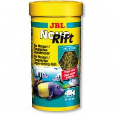 JBL NovoRift - Осн. корм для растительноядных цихлид, палочки, 250 мл (133 г)