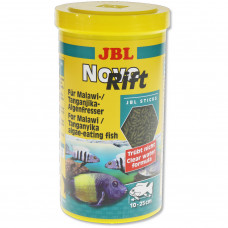 JBL NovoRift - Осн. корм для растительноядных цихлид, палочки, 1 л (530 г)