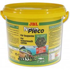 JBL NovoPleco - Осн. корм для кольчужных сомов, тон. чипсы, 5,5 л (2900 г)