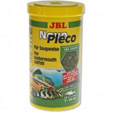 JBL NovoPleco - Осн. корм для кольчужных сомов, тон. чипсы, 1 л (530 г)