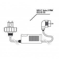 JBL AquaCristal lid+ballast - Блок питания для УФ-стерилизатора AquaCristal, 9 Вт