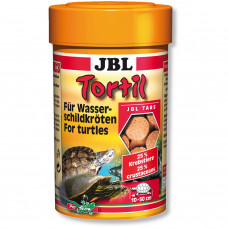 JBL Tortil - Корм в таблетках для водных и болотных черепах, 100 мл (60 г)