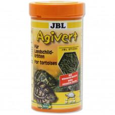 JBL Agivert - Осн корм для собакухопутных черепах длиной 10-50 см, палочки, 100 мл (42 г)