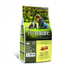 Pronature Holistic - Корм для котят, курица со сладким картофелем