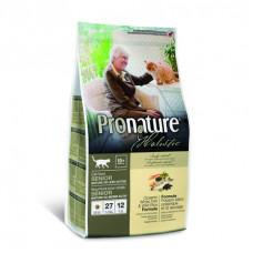 Pronature Holistic - Корм для кошек, облегченный, океаническая белая рыба с рисом