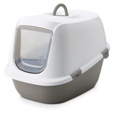 Savic Туалет-домик для кошек Leo XL бежевый 64*46*45 см A2052