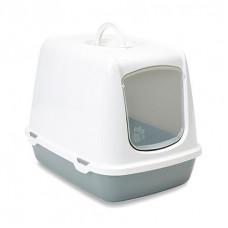 Savic - Туалет-домик для кошек, серый, 50x37x39см (OSKAR)
