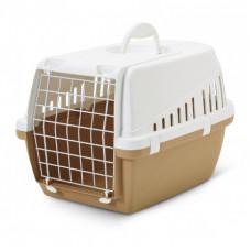 Savic - Переноска для кошек, 49х33х30см, бежевая (Retro TROTTER 1)
