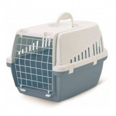 Savic - Переноска для кошек, 49х33х30см, голубая (Earth Collection TROTTER 1)