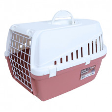 Savic - Переноска для кошек, 49х33х30см, розовая (Earth Collection TROTTER 1)