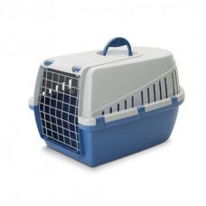 Savic - Переноска для кошек, 49х33х30см, синяя (TROTTER 1)