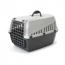 Savic - Переноска для кошек, 49х33х30см, серая (TROTTER 1)