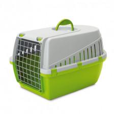 Savic - Переноска для кошек, 56х33х33см, светло-зеленая (TROTTER 2)