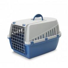 Savic - Переноска для кошек, 56х33х33см, синяя (TROTTER 2)