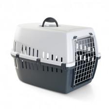 Savic - Переноска для кошек, 56х33х33см, серая (TROTTER 2)