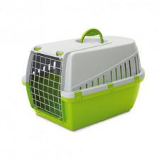 Savic - Переноска для кошек, 49х33х30см, светло-зеленая (TROTTER 1)