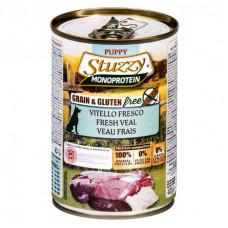 Stuzzy Monoprotein - Консервы для щенков, свежая телятина