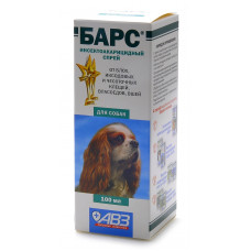Агроветзащита - Барс Спрей для собак от блох и клещей инсектоакарицидный