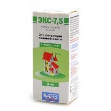 Агроветзащита - ЭКС-7,5- средство для регуляции половой охоты у кошек и собак, 3мл