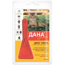 Апи-Сан - Дана Ультра (для кошек и котят до 4 кг), 1 пипетка 0,32 мл