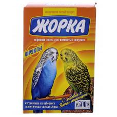 Жорка - Для волнистых попугаев с фруктами (коробка)
