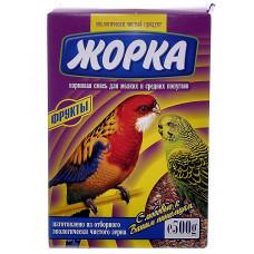 Жорка - Для мелких и средних попугаев с фруктами (коробка)