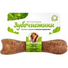 Зубочистики для собак средних пород со вкусом морских водорослей