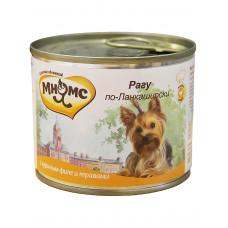 Мнямс консервы для собак Рагу по-Ланкаширски (куриное филе с травами)