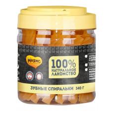 Мнямс лакомство для собак крученые зубные палочки с фруктами