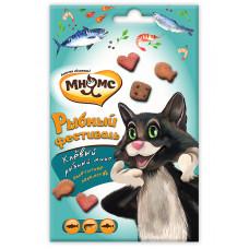 Мнямс Рыбный фестиваль для кошек (лосось, креветки, форель)
