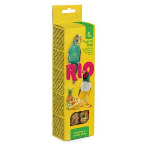 Рио - Палочки для волнистых попугайчиков и экзотов с тропическими фруктами, 2х40 г