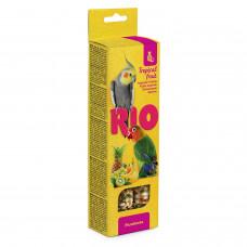 Рио - Палочки для средних попугаев с тропическими фруктами, 2х75 г