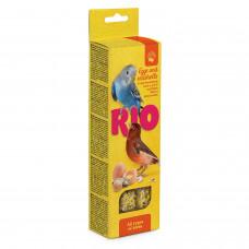 Рио - Палочки для всех видов птиц с яйцом и ракушечником, 2х40 г